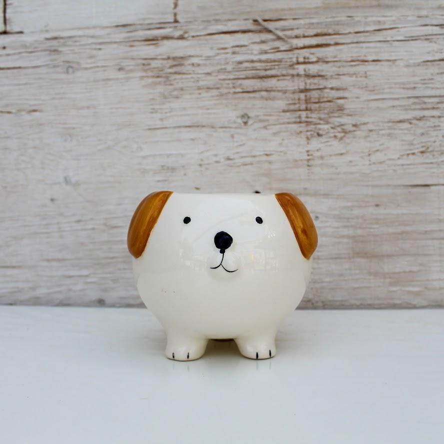 Animal Planter Kit: Brown Dog