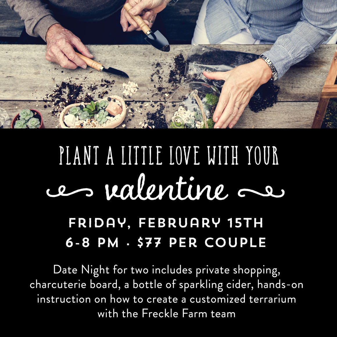 Plant a Little Love with your Valentine