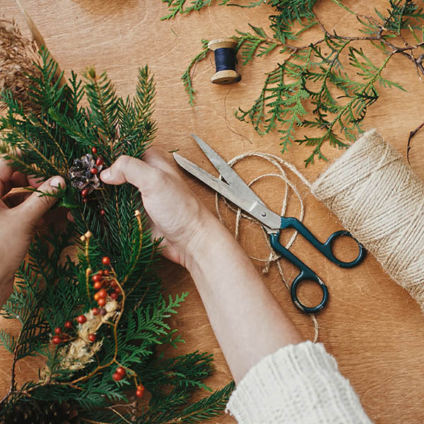 Holiday Wreath Making Workshop- Tuesday, December 1st 6:00pm
