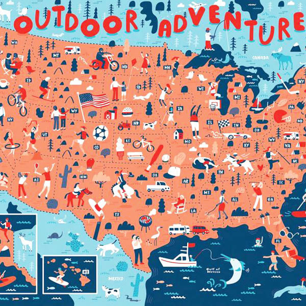 American Adventures-Outdoor Adventures