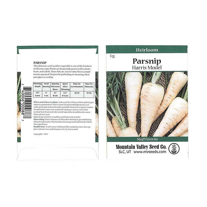 Seeds-Parsnips, 'Harris Model'