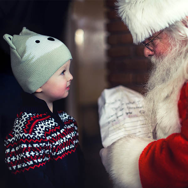 Contactless Visit with Santa-Saturday, December 5th 10:00-12:30pm