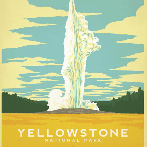National Parks & Landmarks-Yellowstone