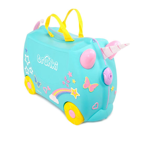 Trunki Una the Unicorn - bag space Cherrybrook