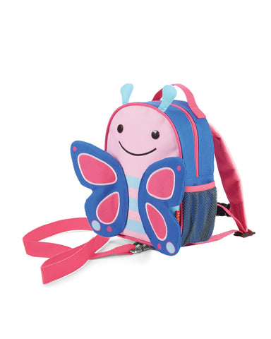 SKIP HOP ZOO-LET Mini Backpack With Rein (BUTTERFLY) - bag space Darling Harbour