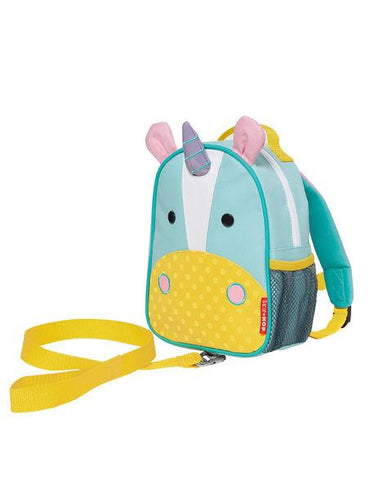 SKIP HOP ZOO-LET Mini Backpack With Rein (Unicorn) - bag space Darling Harbour