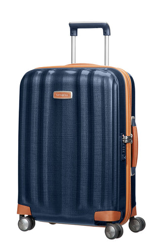 Samsonite LITE-CUBE DLX (Midnight Blue 55cm Spinner) - bag space Darling Harbour