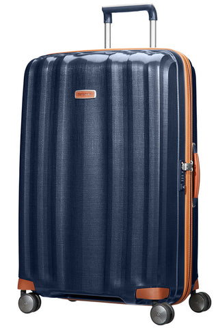 Samsonite LITE-CUBE DLX (Midnight Blue 82cm Spinner) - bag space Darling Harbour