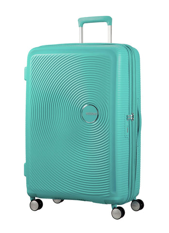 American tourister Curio (Mint Green 69CM Spinner) - Bag Space Darling Harbour