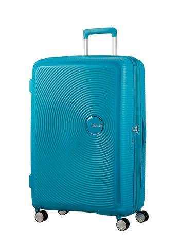 American tourister Curio(Turquoise 69CM Spinner) - Bag Space Darling Harbour