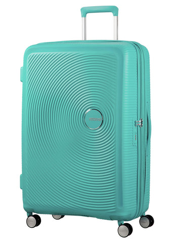 American tourister Curio (Mint Green 80CM Spinner) - Bag Space Darling Harbour