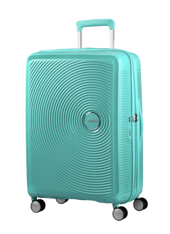 American tourister Curio (Mint Green 55CM Spinner) - Bag Space Darling Harbour