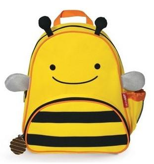 SKIP HOP Zoo Packs Little Kids Backpack (Bee) - Bag Space Darling Harbour