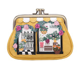 Vendula Flower Shop Clipper Coin Purse