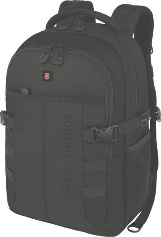 CADET Backpack (Black, Red) - bag space Darling Harbour