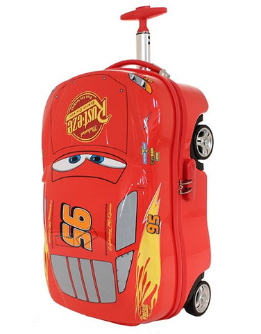 LIGHTNING MCQUEEN ON-BOARD TROLLEY CASE (DIS122) - Bag Space Darling Harbour