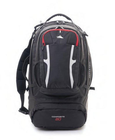 COMPOSITE RANGE 80L Travel Pack - bag space Cherrybrook