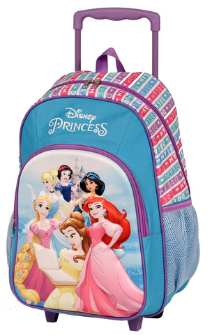 PRINCESSES TROLLEY BACKPACK