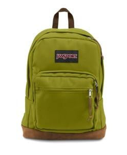 JanSport Rightpack Backpack(Forest Moss) - bag space Cherrybrook
