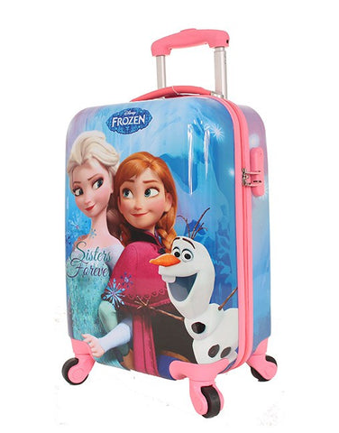 FROZEN BLUE ON-BOARD TROLLEY CASE - Bag Space Darling Harbour