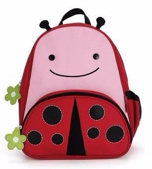 Zoo Packs Little Kids Backpacks Ladybug - Bag Space Cherrybrook