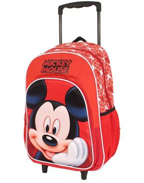 MICKEY MOUSE TROLLEY BACKPACK - bag space Cherrybrook