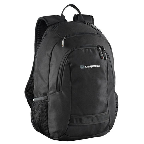 caribee Nile 30 L backpack (black) - bag space Darling Harbour
