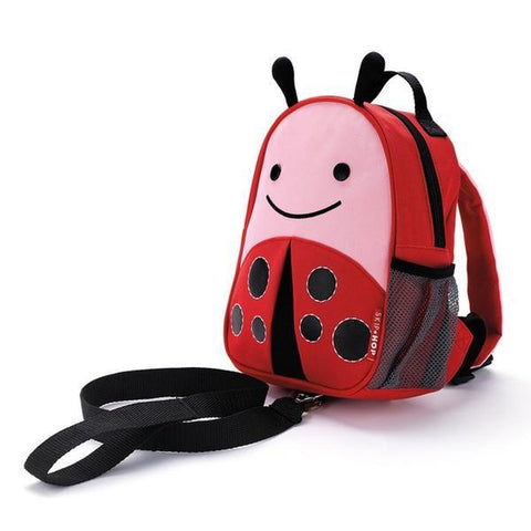 SKIP HOP ZOO-LET Mini Backpack With Rein (Lady bug) - bag space Darling Harbour