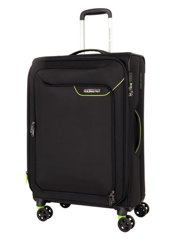 American tourister APPLITE 4 SECURITY (Black 71 cm Spinner) - bag space Darling Harbour