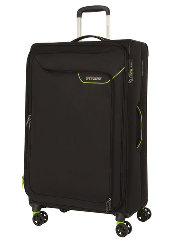 American tourister APPLITE 4 SECURITY (Black 82 cm Spinner) - bag space Darling Harbour