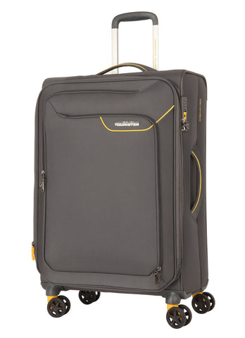 American tourister APPLITE 4 SECURITY (Lightning Grey 71 cm Spinner) - bag space Darling Harbour