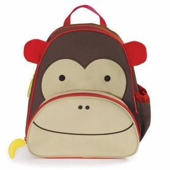 Zoo Packs Little Kids Backpacks Monkey - Bag Space Cherrybrook