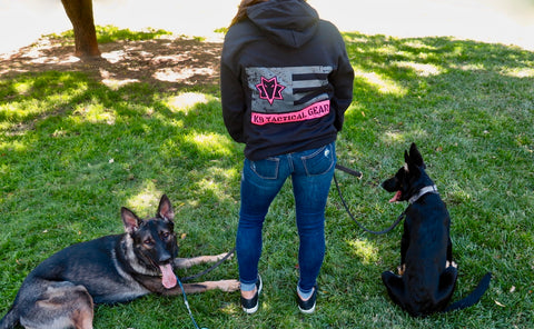 Pink K9 Tactical Gear Sweatshirt