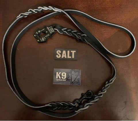 Hands Free Leather Lead