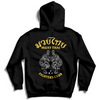 MUAY THAI TWIN TIGER HOODIE - BLACK