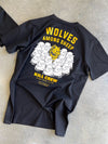 WOLVES AMONG SHEEP T-SHIRT v2 - YELLOW/BLACK
