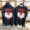 WOLVES AMONG SHEEP HOODIE - BLACK