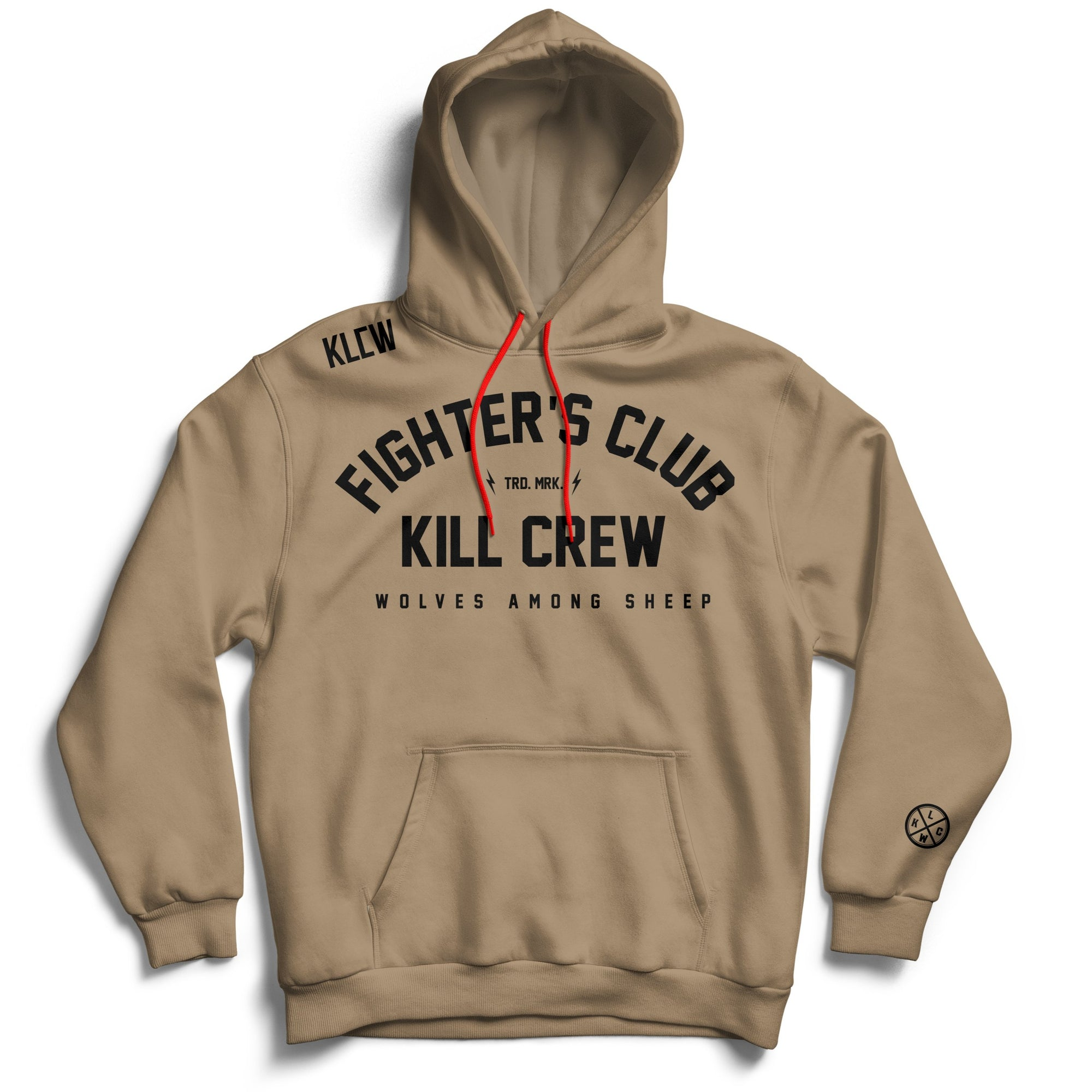 FIGHTER'S CLUB HOODIE - SAND