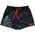MUAY THAI SHORTS (MID THIGH CUT) - BLACK