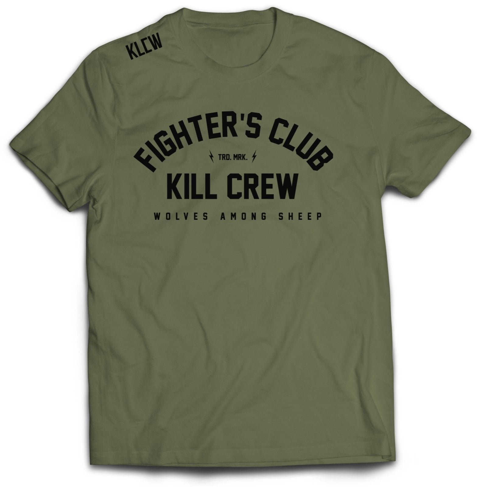 FIGHTER'S CLUB T-SHIRT - OLIVE