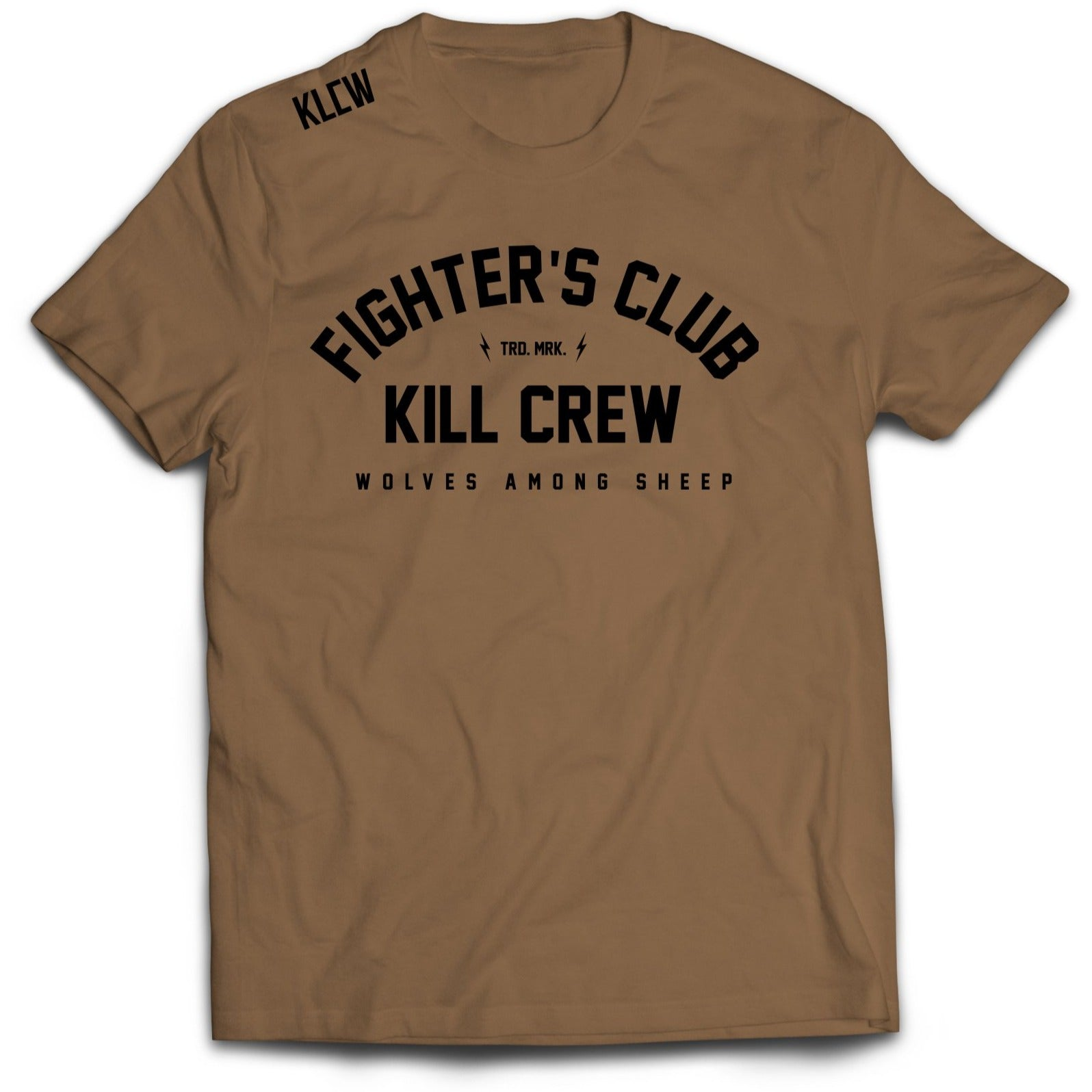 FIGHTER'S CLUB T-SHIRT - SAND
