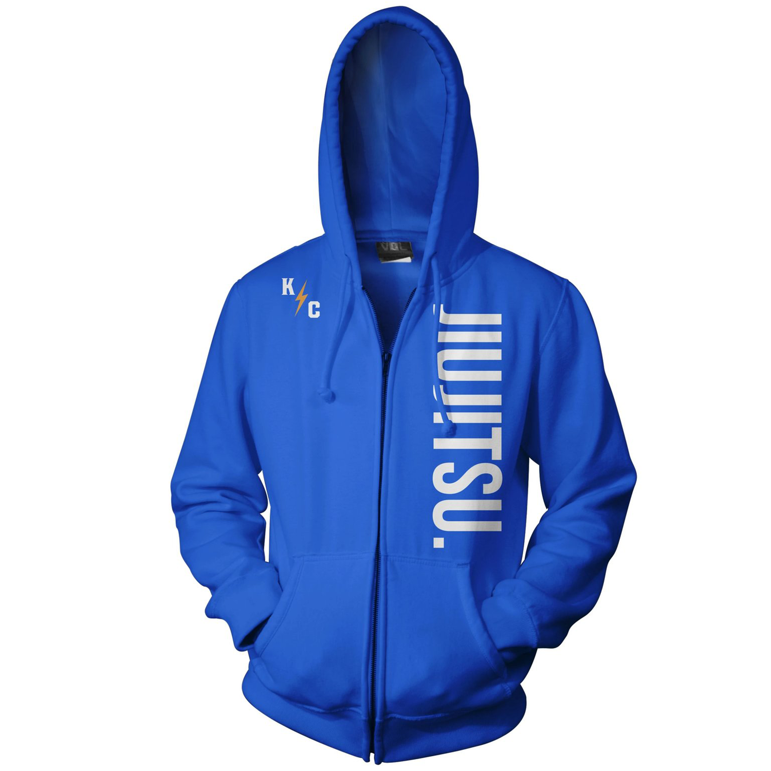 JIU JITSU ZIP UP - BLUE