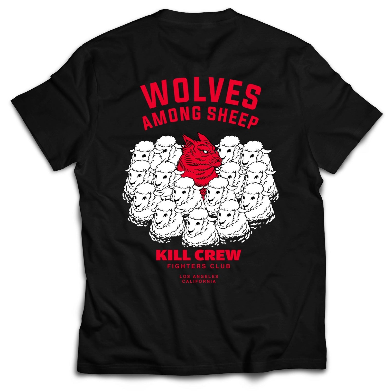WOLVES AMONG SHEEP T-SHIRT - BLACK