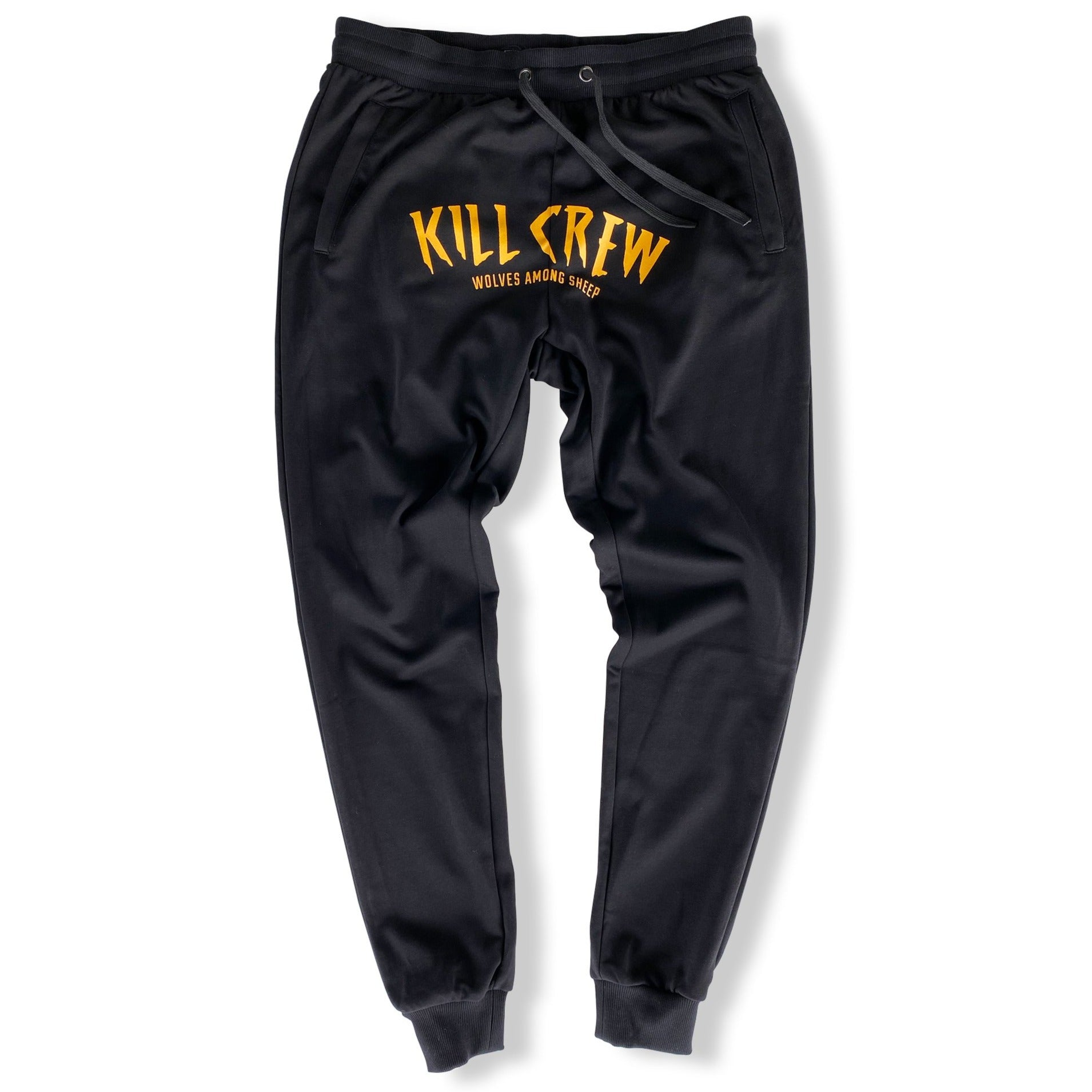 WOLVES JOGGERS - GOLD/BLACK