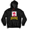 BATTLE SCARS PATCH HOODIE - BLACK