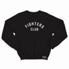 FIGHTER'S CLUB CREW NECK - BLACK