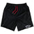 FIGHTER'S CLUB SHORTS - BLACK