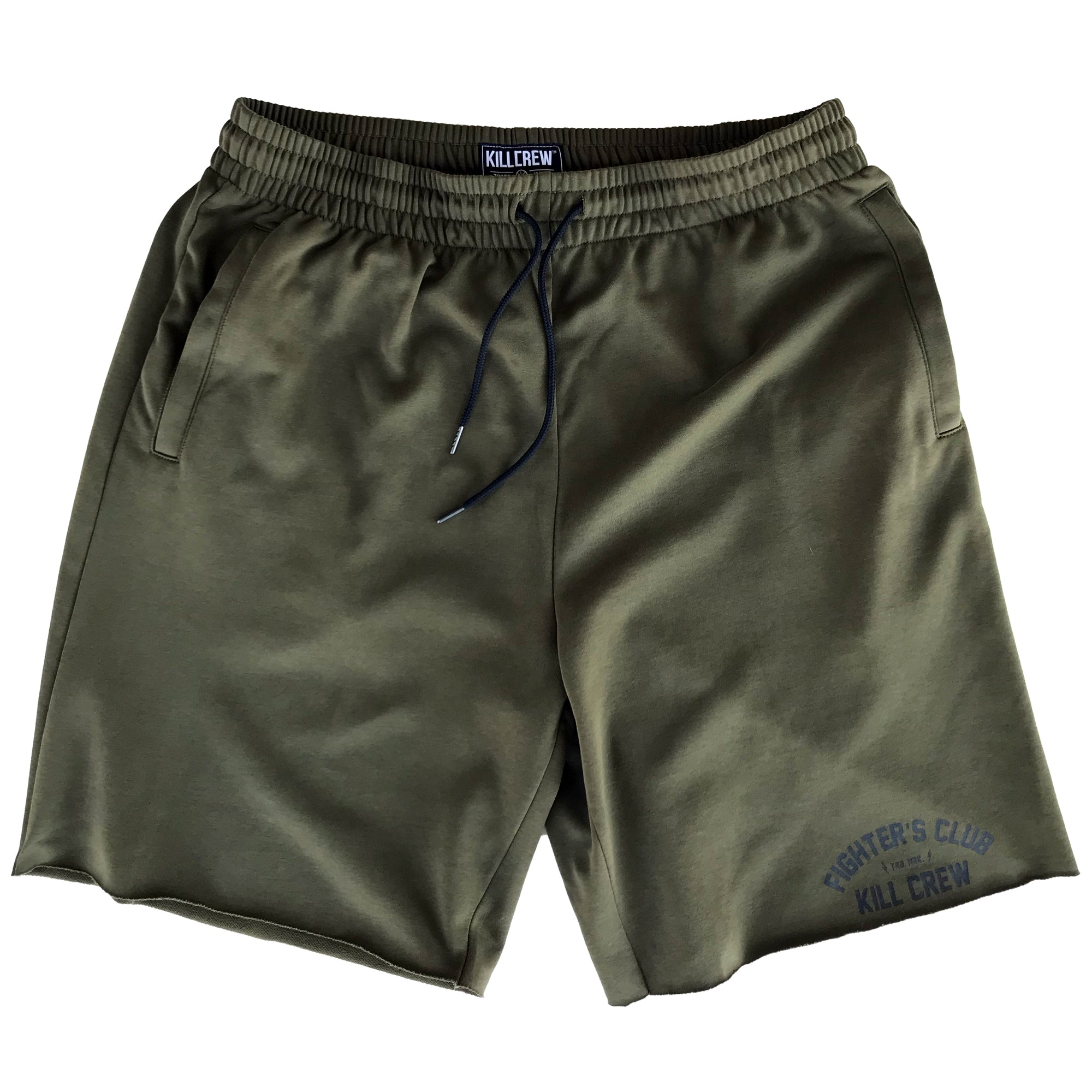 FIGHTER'S CLUB SHORTS - OLIVE