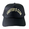 FIGHTER'S CLUB TRUCKER HAT - BLACK