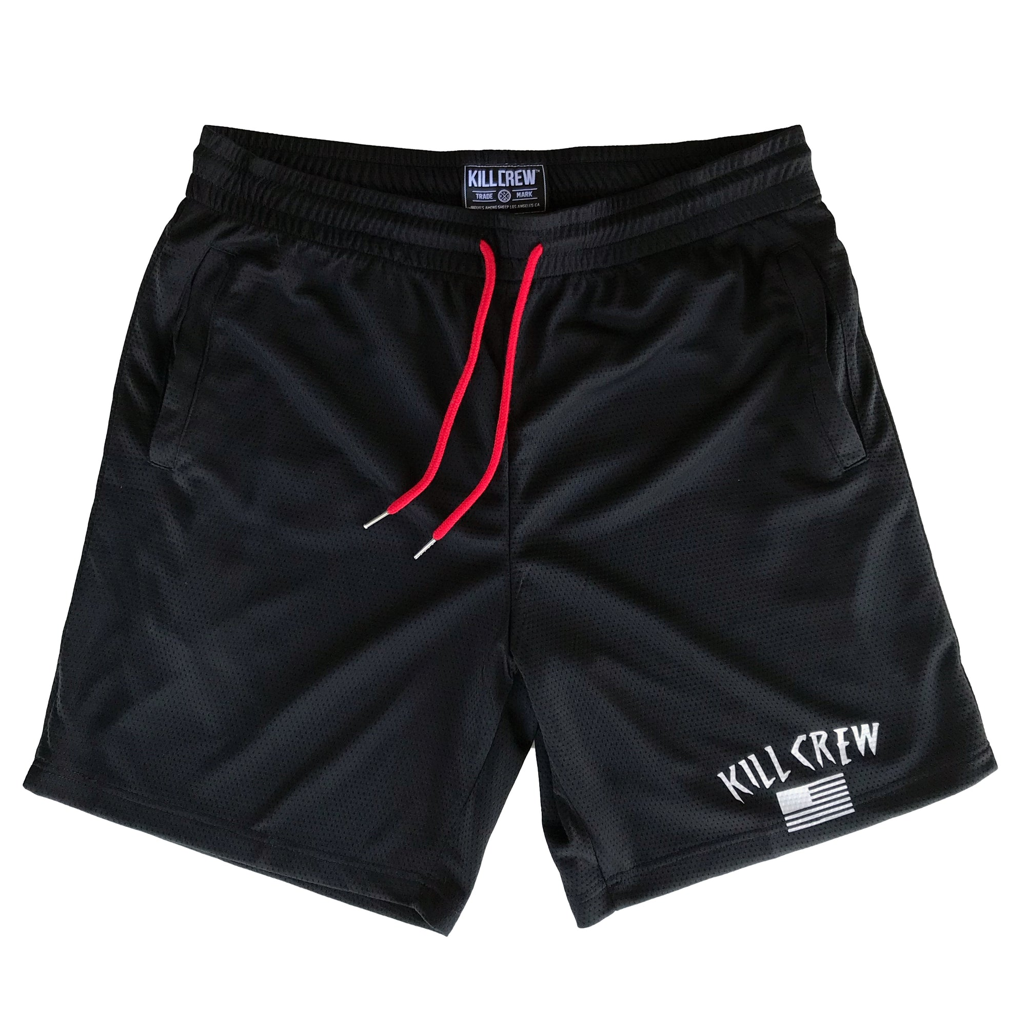 FLAG SHORTS - BLACK
